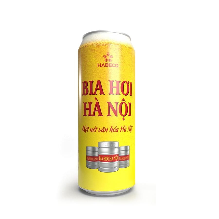 Bia hơi Hà Nội 500ml
